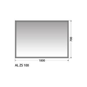 Zrcadlo Intedoor AL ZS 100