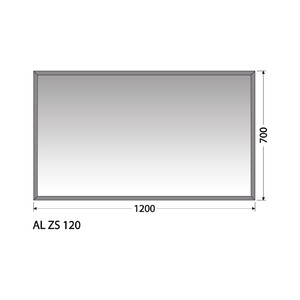 Zrcadlo Intedoor AL ZS 120