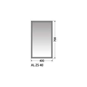 Zrcadlo Intedoor AL ZS 40