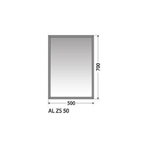 Zrcadlo Intedoor AL ZS 50