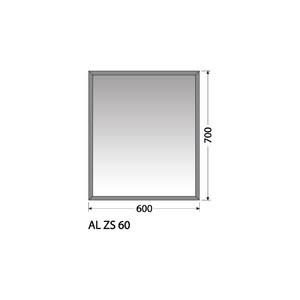 Zrcadlo Intedoor AL ZS 60