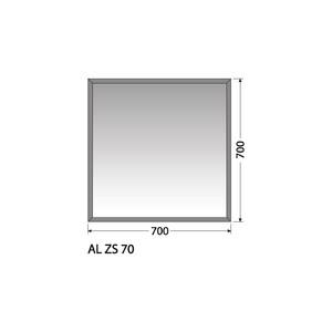 Zrcadlo Intedoor AL ZS 70