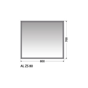 Zrcadlo Intedoor AL ZS 80
