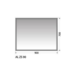 Zrcadlo Intedoor AL ZS 90