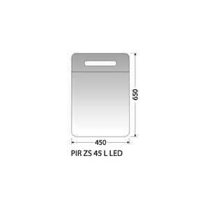 Zrcadlová skříňka Intedoor PIR ZS 45 L LED