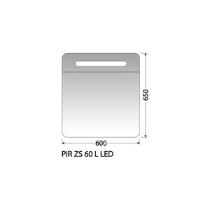 Zrcadlová skříňka Intedoor PIR ZS 60 L LED