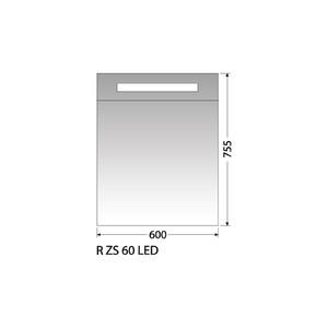 Zrcadlová skříňka Intedoor R ZS 60 LED