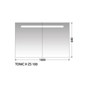 Zrcadlová skříňka Intedoor Tonic H ZS 100