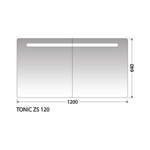 Zrcadlová skříňka Intedoor Tonic ZS 120
