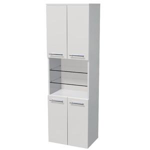Vysoká skříňka Intedoor UNI SV 162/50 4D OP